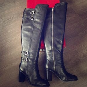 Adrienne Vittadini tall over the knee boots
